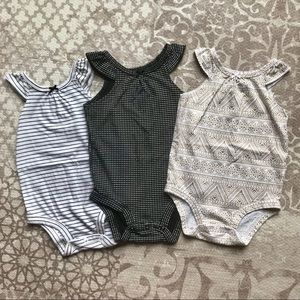 Carter's baby girls 9 month bodysuits